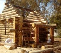 Дом 5х5 деревянный