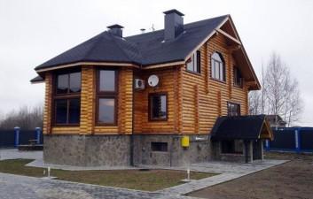Дома из круглого леса